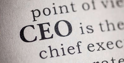 CEO definition on paper