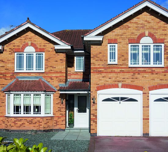 high value home with two garages