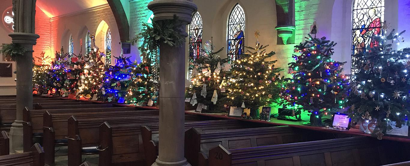 Trinity Church Christmas Tree Festival